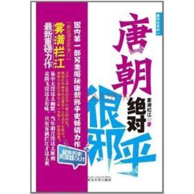 唐朝很邪乎  雾满拦江  武汉大学出版社