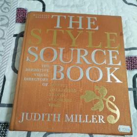 THE STYLE SOURCE BOOK-- 风格样式资料库 布料风格设计 设计资料库( 原版)