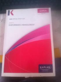 CIMA OFFICIAL STUDY TEXT PERFORMANCE MANAGEMENT PAPER P2