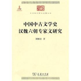 中国中古文学史 汉魏六朝专家文研究