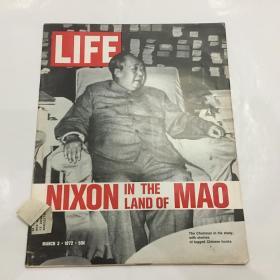 【包邮】1972年3月3日美国生活杂志的毛泽东封面 LIFE MAGAZINE MARCH 3 1972 MAO TSE TUNG