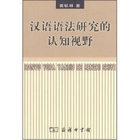 汉语语法研究的认知视野