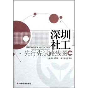 正版 深圳社工先行先试路线图 余智晟 中国社会出版社