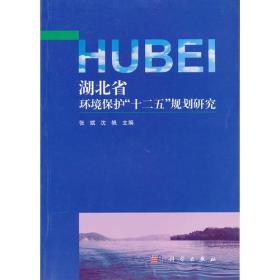 """湖北省环境保护""""十二五""""规划研究"""