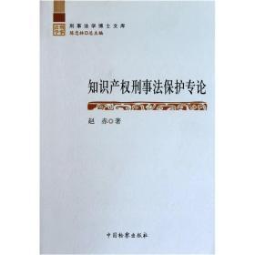 知识产权刑事法保护专论赵赤
