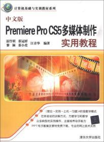 中文版Premiere Pro CS5多媒体制作实用教程/计算机基础与实训教材系列