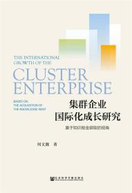 集群企业国际化成长研究
