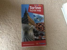 Torino Tourist map 【外文版】