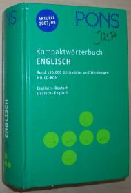 德国原版书 PONS Kompaktwörterbuch Englisch - Ausgabe 2005/06: PONS Kompaktwörterbuch Englisch - Ausgabe 2007/08 (Englisch)  2007 von Erich Weis (Autor)