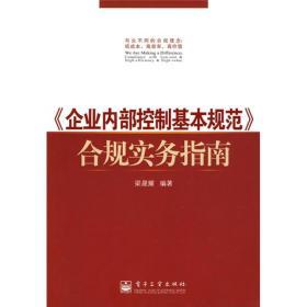 〈企业内部控制基本规范〉合规实务指南