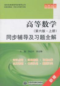高等数学(第六版上册)同步辅导及习题全解 (九章丛书)(高