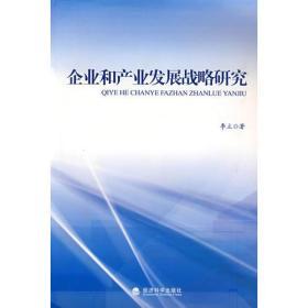 企业和产业发展战略研究