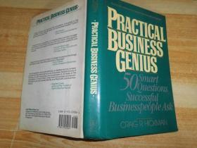 PRACTICAL BUSINESS GENIUS 英文原版:实际的商业天才