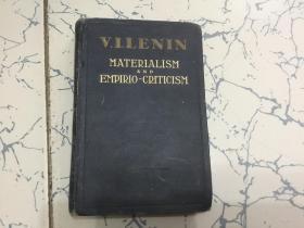 materialism and empirio-criticism   英文版;唯物主义和经验批判主义 [1947年版]