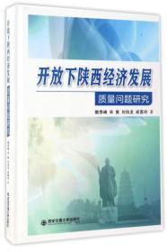 正版】开放下陕西经济发展质量问题研究