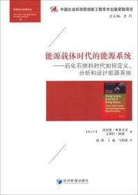 能源经济经典译丛·能源载体时代的能源系统:后化石燃料时代如何定义、分析和设计能源系统