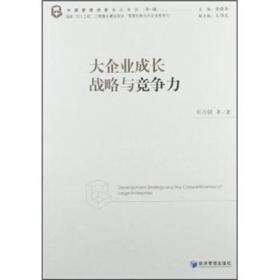 中国管理创新前沿系列(第1辑):大企业成长战略与竞争力
