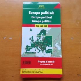 欧洲各国地图(原版)