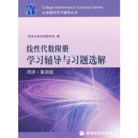 线性代数学附册学习辅导与习题选解同济第四4版 同济大学应用