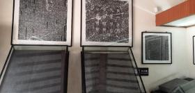 唐代颜真卿书,郭虚己墓志铭,周字损伤版,原石原拓,原石现藏偃师商城博物馆,现在周字已修复,长106+105cm
