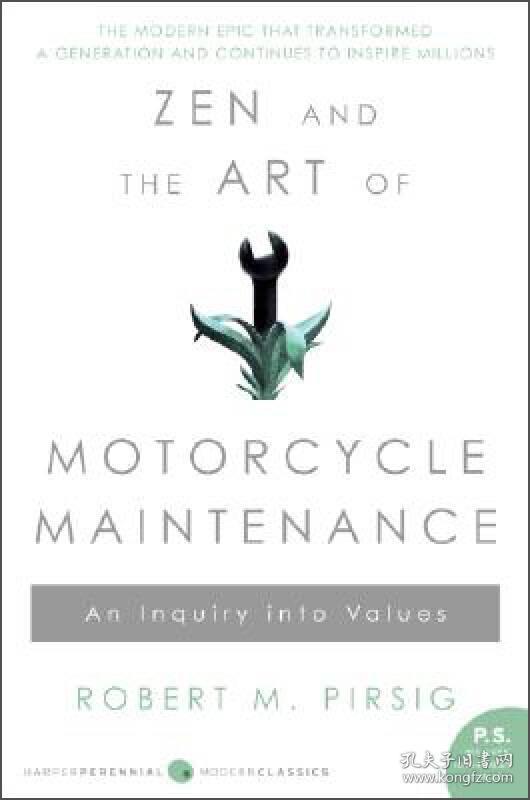 Zen and the Art of Motorcycle Maintenance,禅与摩托车维修日记
