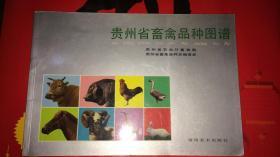 贵州省畜禽品种图谱【铜版纸彩印,未印出版时间】