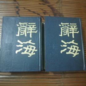 辞海(上下册)全2册