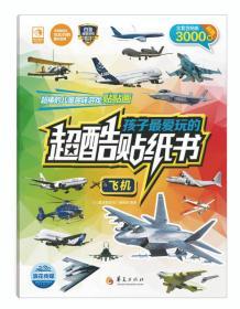 孩子最爱玩的超酷贴纸书:飞机