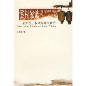 溪村家族:社区史、仪式与地方政治