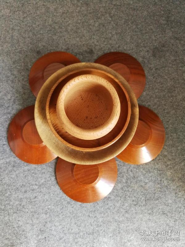 木质茶道具 一堆 回流茶道具