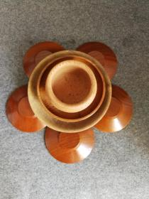 木質茶道具 一堆 回流茶道具