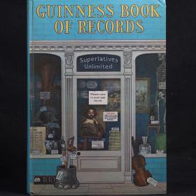 英文原版 GUINNESS BOOK OF RECORDS 吉尼斯世界纪录大全 1972年【精装大开本】