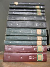 低价出售老《美术》杂志合订本11厚册!巨厚!苏州大学图书馆藏!