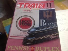 买满就送  日本机车模型杂志《TRAIN》2001.11