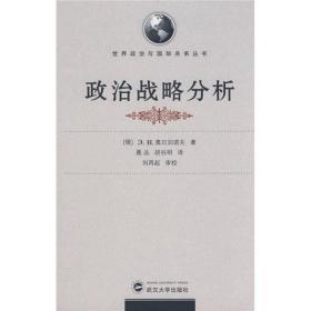 世界政治与国际关系丛书:政治战略分析武汉大学奥日加诺夫9787307066250