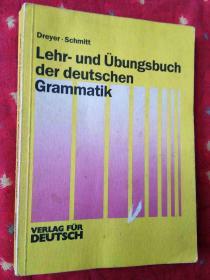 Lehr-und Übungsbuch der deutschen Grammatik【德文原版16开】