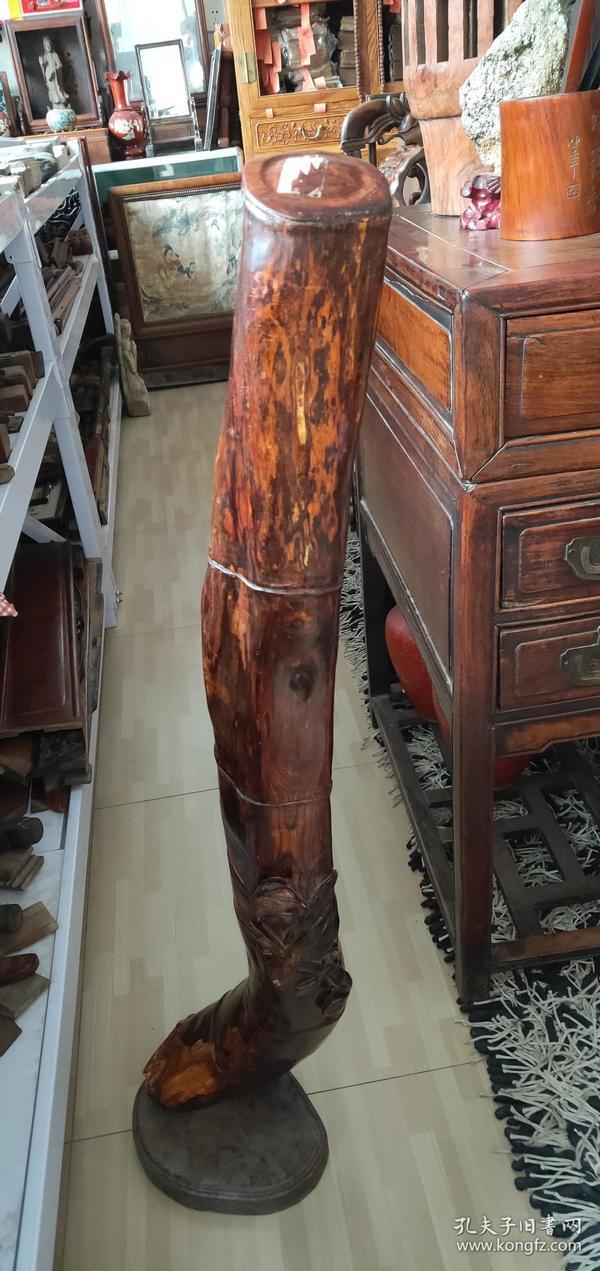 东方神木、海南黄花梨、尺寸100x14cm重 15斤、保真