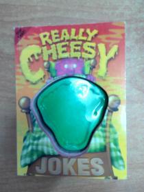 英文原版儿童笑话图书: Really Cheey Jokes (装订方式如图所示)