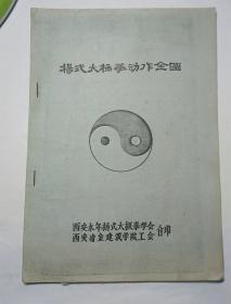杨式太极拳动作全图