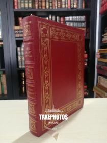 The Great Gatsby  菲兹杰拉德  F. Scott Fitzgerald 《了不起的盖茨比》easton press 1991年出版 二十世纪伟大名著系列 真皮精装 收藏版