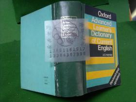 Oxford Advanced Learners Dictionary of Current English/A S Hornby