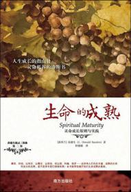 孙德生属灵3部曲·第2部:生命的成熟·灵命成长原则与实践