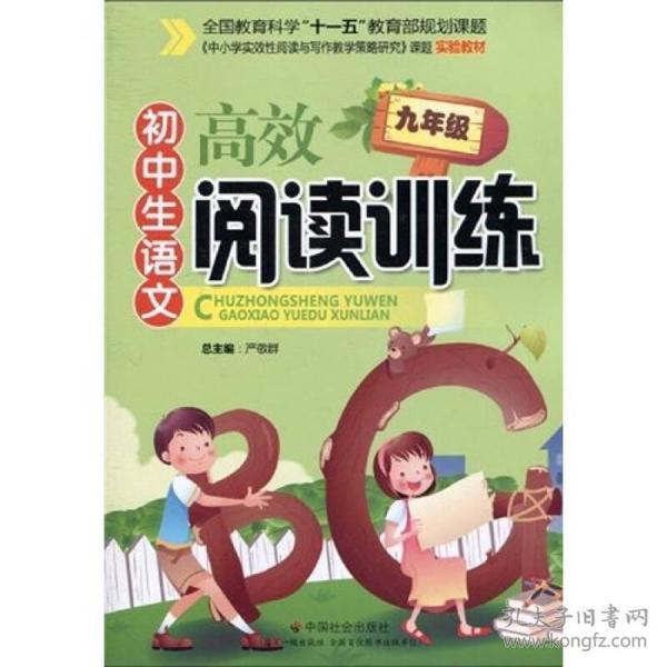 初中生语文高效阅读训练(9年级)