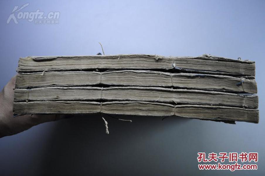 康熙30年巨大開本的和刻《禮記》4厚冊全~~紙如玉。墨如漆!字大如錢!!!!