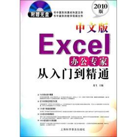 从入门到精通系列:Excel办公专家从入门到精通(中文版)(2010版)