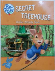 Secret Treehouse Sticker Activity Book (Peter Rabbit Animation) Paperback   秘密的树屋贴纸活动手册(彼得兔动画) 平装书