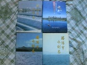 沈阳市水利志.1986-1992.1993-1996.1997-2000.2001-2005年.四本100元