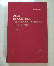 ATLAS LINGUISTIQUE & ETHNOGRAPHIQUE NORMAND(VOLUME IV)