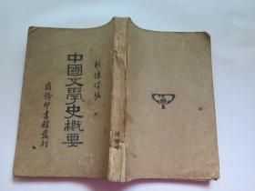 中国文学史概要