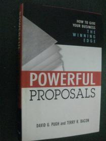 英文原版 Powerful Proposals  精装